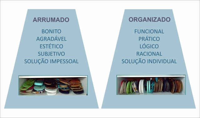 arrumado organizado